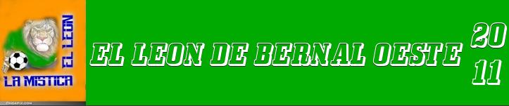 AÑO 2010 - BERNAL OESTE , UN LEON ARGENTINO