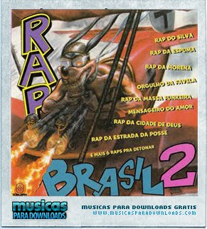 Capa Rap Brasil 2 | músicas