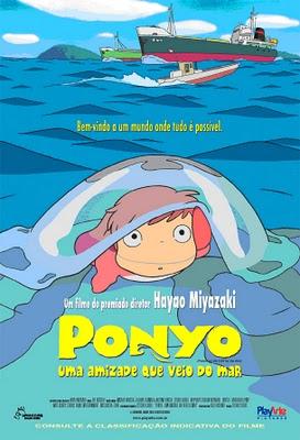 Filme Ponyo : Uma Amizade Que Veio do Mar   Dublado