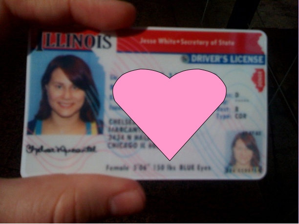 completed 27 get an illinois driver s license chelsea days. Black Bedroom Furniture Sets. Home Design Ideas