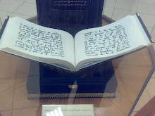 Al Quran kalighrafi utsman