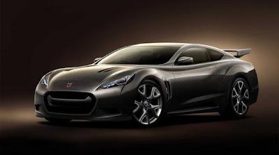 Nissan GT-R 2013 model year with a hybrid engine