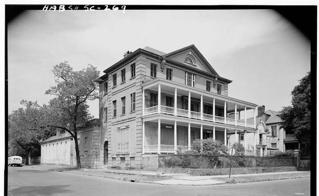 The architecturalist aiken rhett house charleston sc for Aiken house