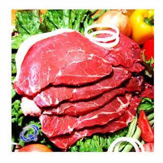Tabela de Calorias das carnes