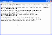 Top 10 Virus Lokal Indonesia : Agustus 2009