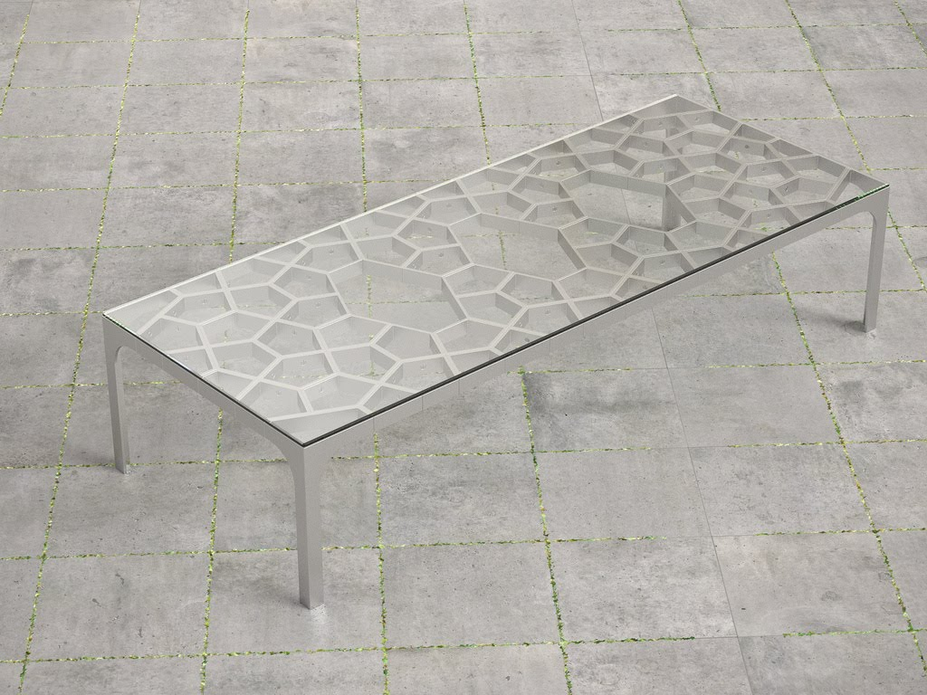 Tlc aluminum coffee table aluminum coffee table geotapseo Gallery