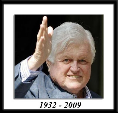 ted kennedy. Senator Ted Kennedy died today