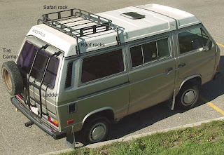 Westfalia Pop-Up Roof Rack & Eurovan - Camper Van - Honda Elements: Westfalia Pop-Up Roof Rack