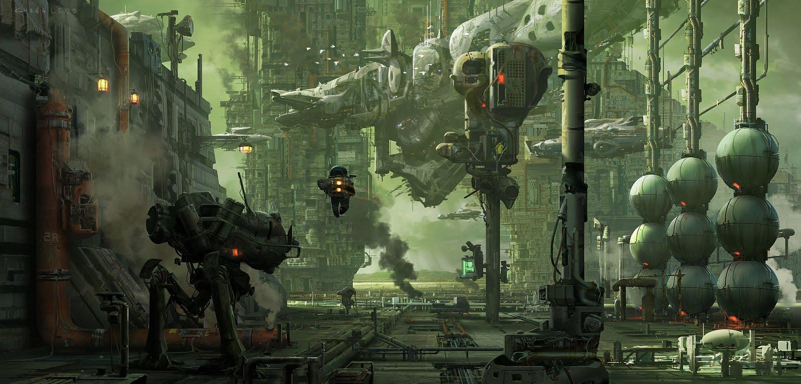 Concept design academy sci fi mech design with khang le for Sci fi decor