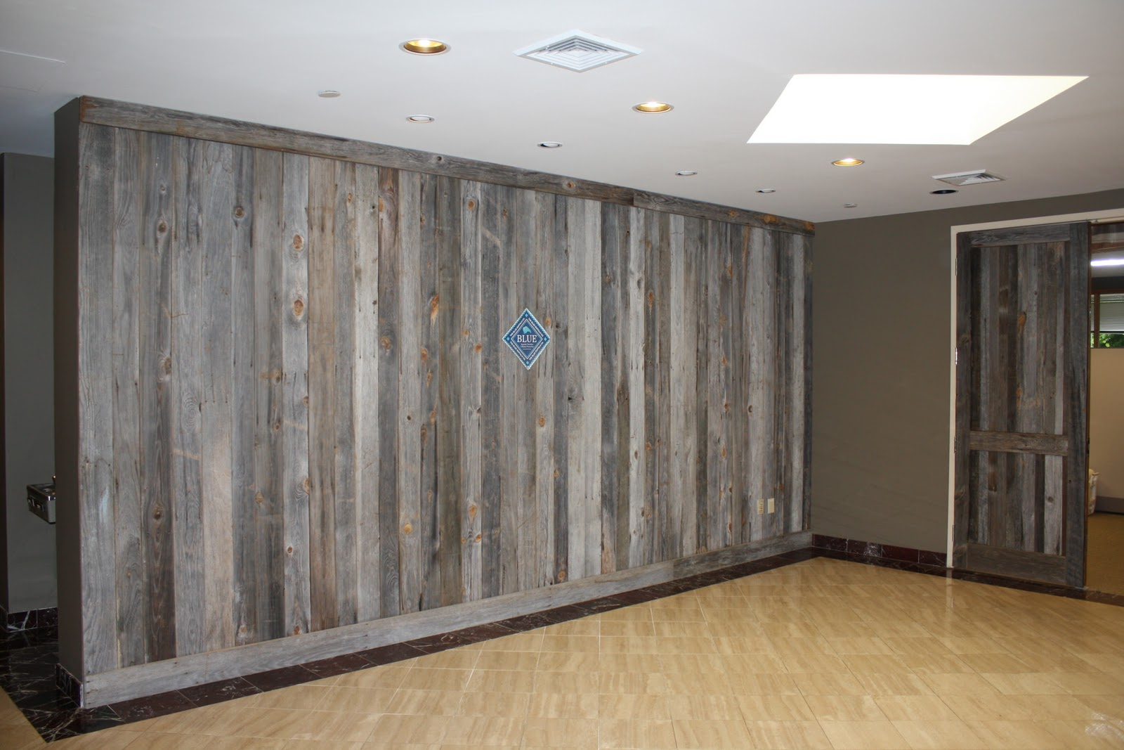 finished with style the blue buffalo co With barn siding interior walls
