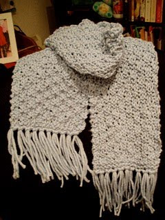 Free Knitting Pattern For Basket Weave Scarf : Scarf Knitting Patterns: Free Simple Basketweave Scarf Pattern