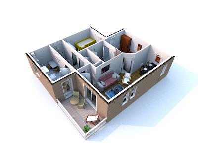 Dessin des plans et repr sentation en 3d page 3 forum for Exemple maison sweet home 3d