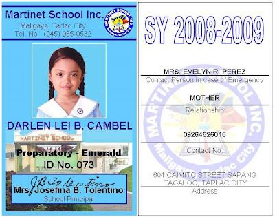 school id card design - Vatoz.atozdevelopment.co