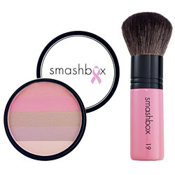 Pretty in Pink! Smashbox Blushing Pink Fusion Soft Lights and Brush