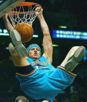 Chris Andersen Exotic Slam dunk