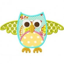 Owl applique#2