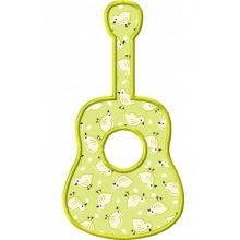 Simple guitar applique