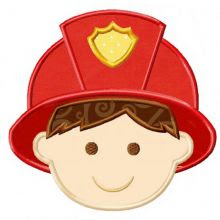 Fireman Applique