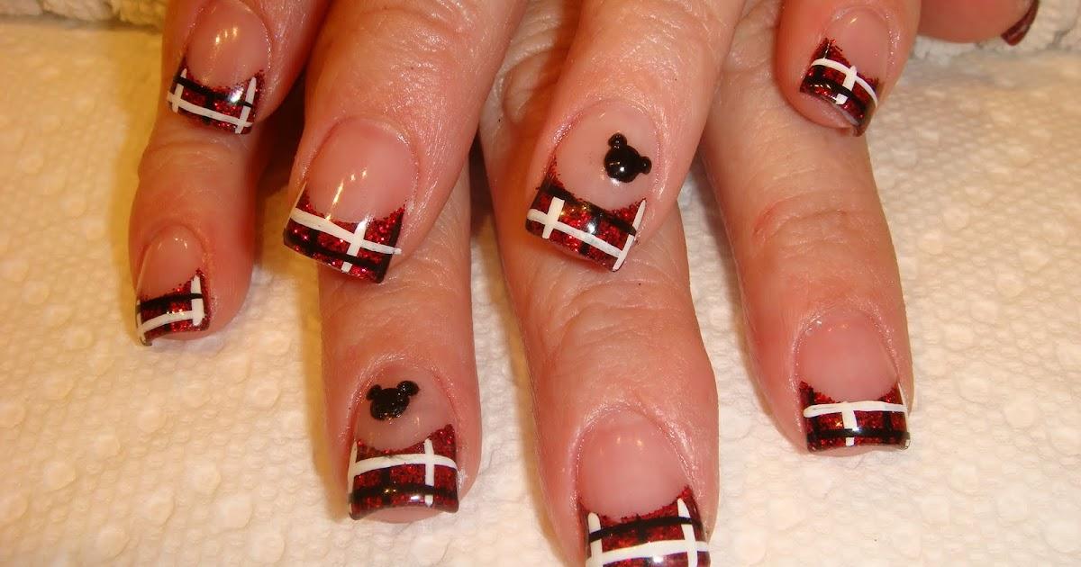 nail art disneyland
