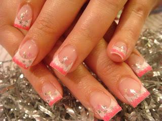 Pink Acrylic Nail Designs