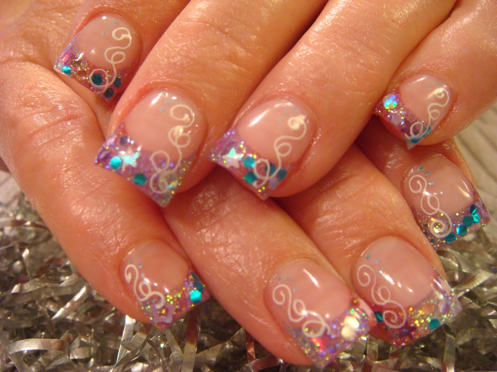 Nail art august 2010 crazy sexy cool prinsesfo Images