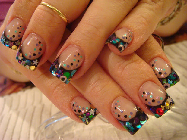leftovers nails acrylic