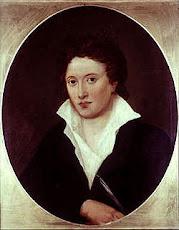 Shelley:Grande Poeta considerado um marco referencial do pensamento Romântico na Literatura Mundial