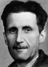 Eric Blair:jornalista, ensaísta e romancista britânico, que escreveu sob o pseudônimo George Orwell