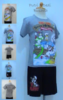 stelan baju kartun tom and jerry