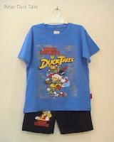 Putri busana, baju kartun anak motif donald duck