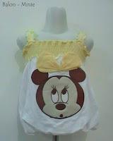 busana bayi motif balon