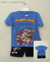 busana kartun anak looney tunes