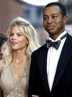 121 affairs for golf champion Tiger Woods during five years of marriage