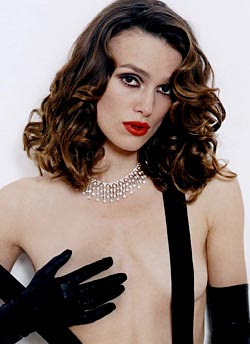 Keira Knightley Showing boobs