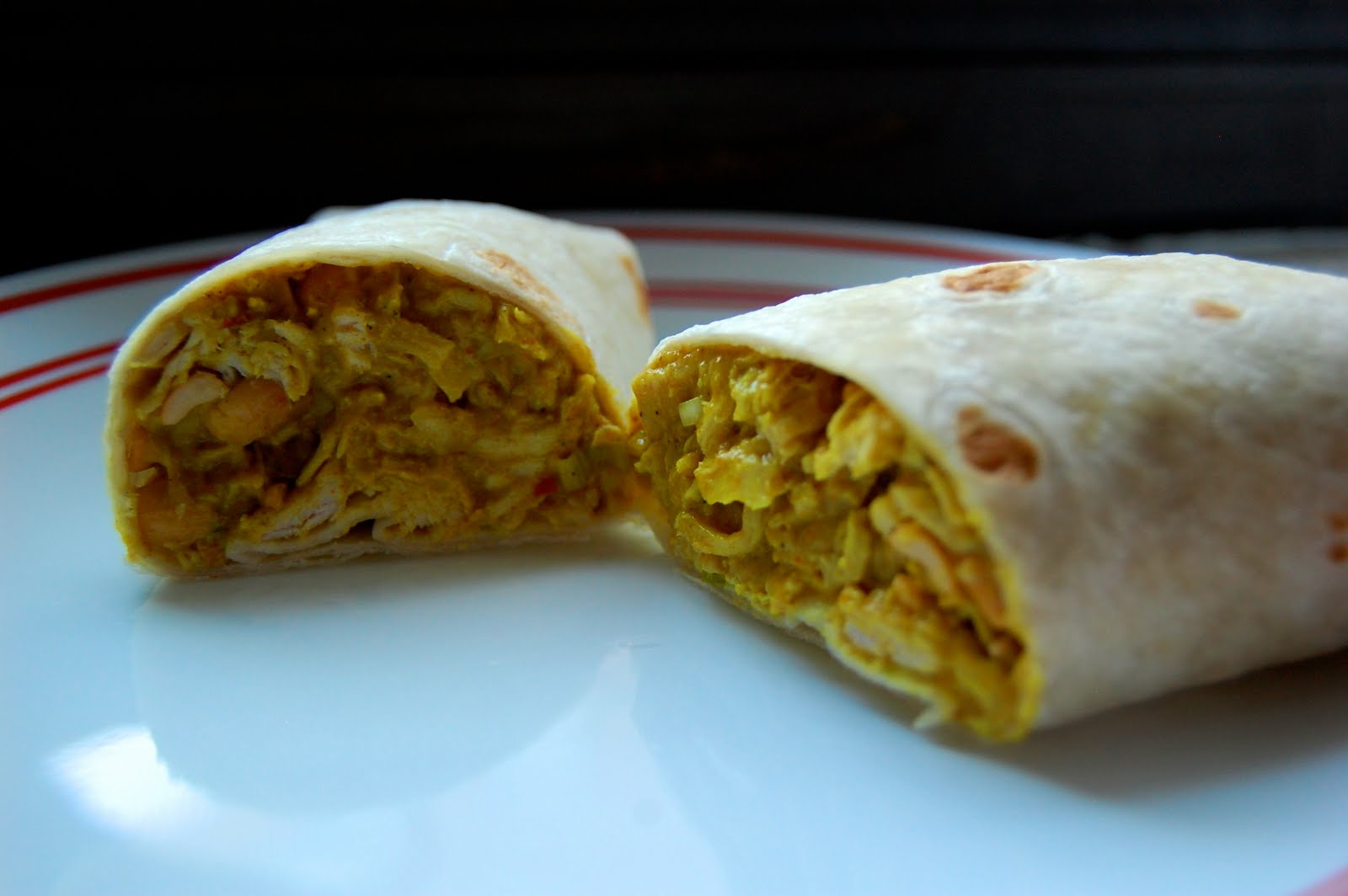 A 1L Who Cooks: Curry Chicken Wraps