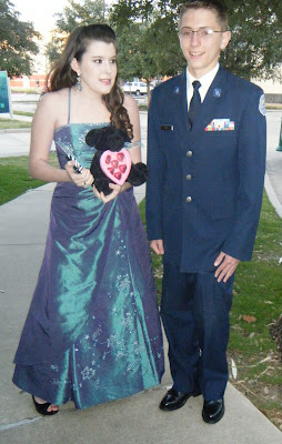 Air Force Military Ball Dress
