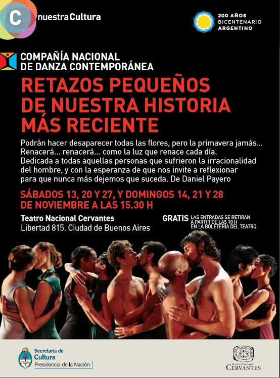 Programa de mano de las funciones en el Teatro Cervantes 2010