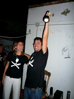 Nico celebrando I