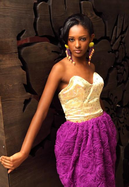 Uganda fashion:  Solome Katongole