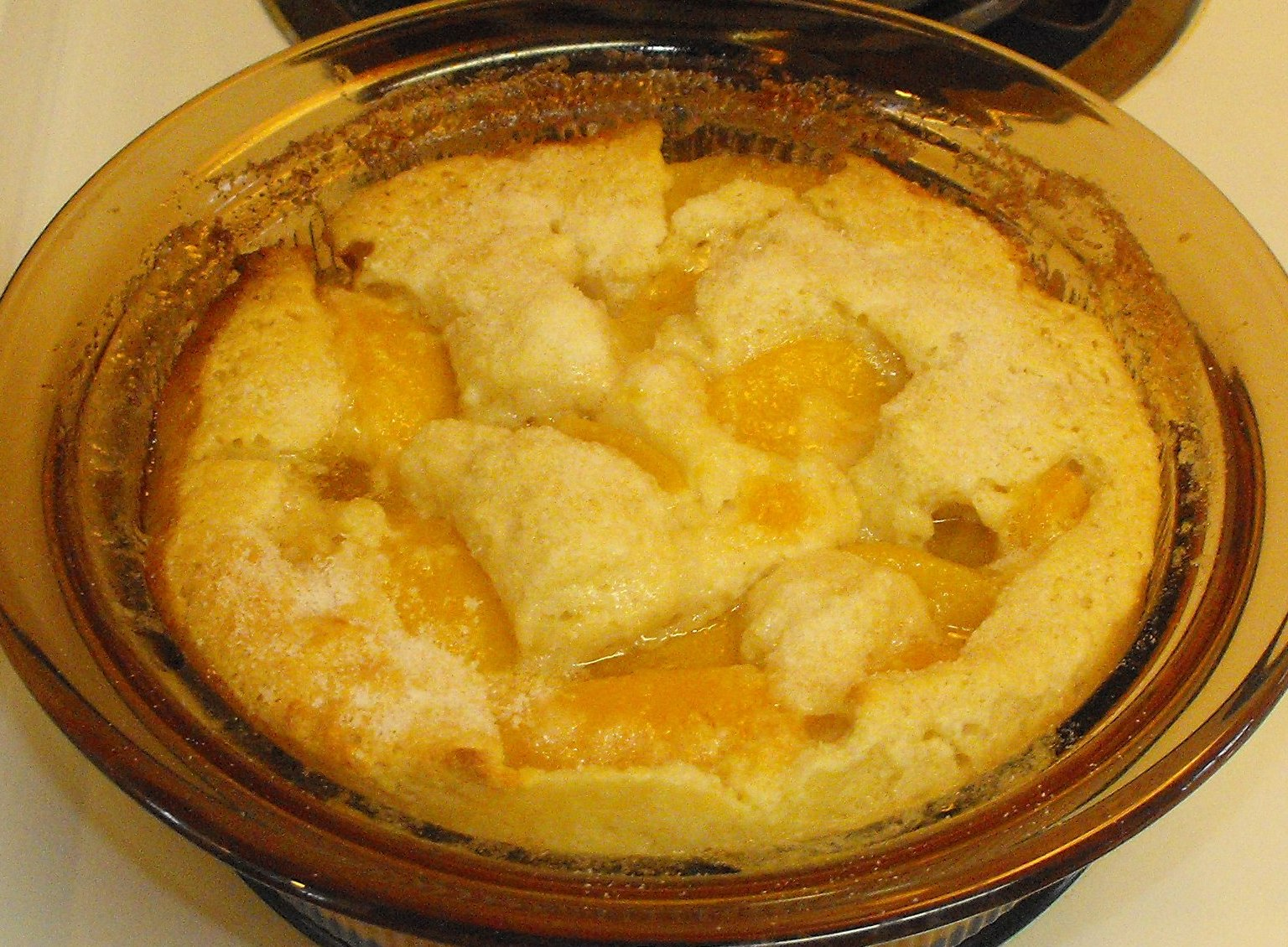 Secrets of a Southern Kitchen: Sugar Free Sunday--Peach Cobbler