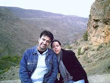 Tigran y Mary en las montañas