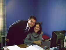 Marcio y Lu en la embajada