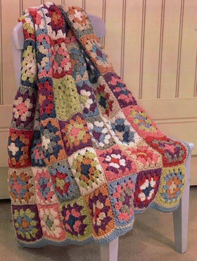 moonshine & wool Ich denke an eine Granny Square