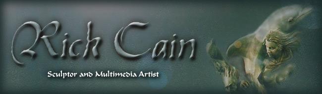 Rick Cain, Sculptor & Multimedia Artist