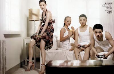 vogue china august 2009 du juan