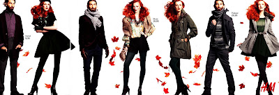Patrick Petitjean, Karen Elson, vogue germany, october, h&m, fall, campaign