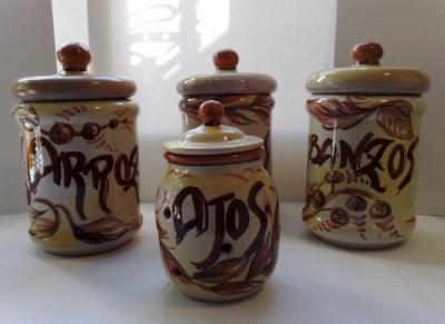 Entre fogones julio 2010 for Tarros de cocina baratos