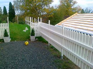 Sätta ihop staket