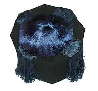 Professor Lida's graduation cap