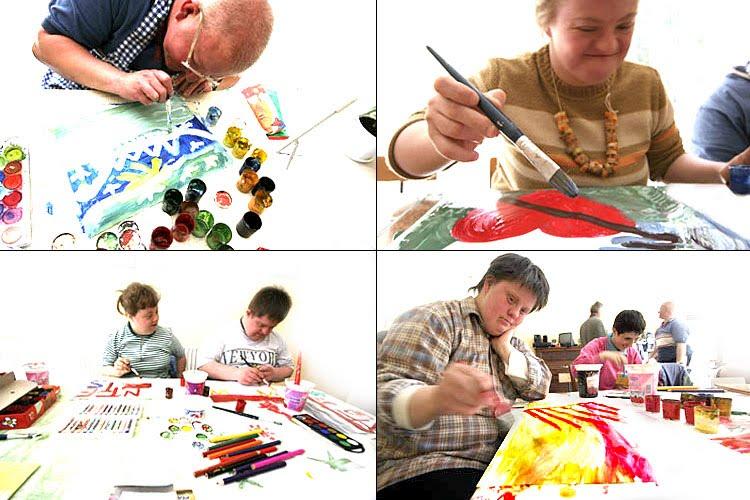 Brillo Comunicadores: Todos podemos Pintar !!!